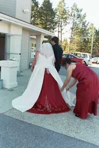 Plus Size Wedding Gown size 22 to 24
