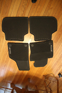 4 winter matts for a 2013 Jetta