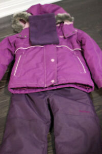 Girls Oshkosh Snowsuit - Size 4