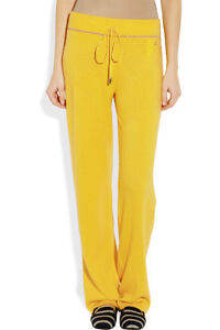 Juicy Couture Yellow Diamond Cashmere Pant