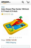 Intex ocean playground pool! New!