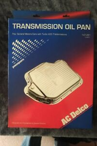 AC Delco chrome Turbo 400 transmission pan