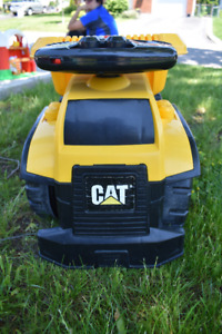 Ride on CAT toy dump truck