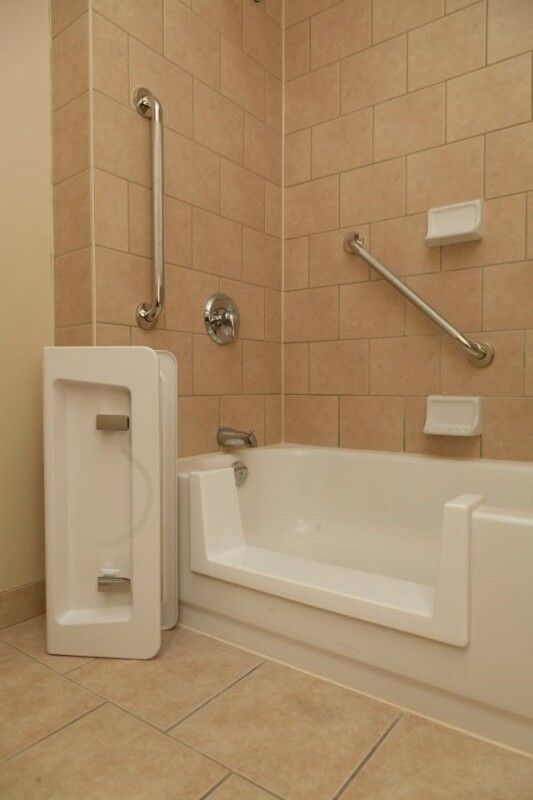 bathtub to shower renovation bathroom safety | health & beauty