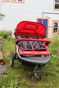 INSTEP Double Stroller (gently used)