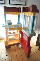Vintage Fisher Price McDonald's Playset with Food $100 OBO