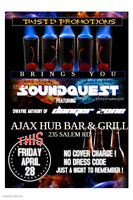 OFFICIAL GRAND OPENING AJAX HUB BAR FREE FOR ALL! LIVE DJ PARTY