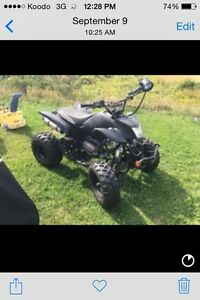 Gio 250cc atv with clutch trade or make an offer