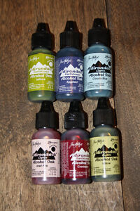 Ranger Alcohol Ink 6 Bottles Never Been Used