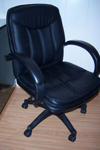 Black leather Desk Chair