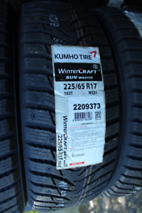 Kumho Winter tire Special 225/65/17  225/60/17  225/50/17 225/45