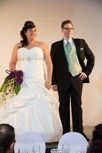 robe mariée  mere de marié bouquetiere bal