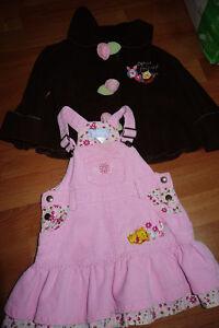 Disney Winnie The Pooh Dress Jumper and Fleece Sweater