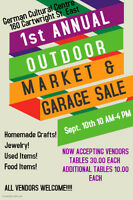 1st Annual Outdoor Market and Garage Sale