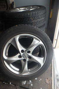 Tires and Wheels (Rims) 235/50-17 PCD=5 X 108