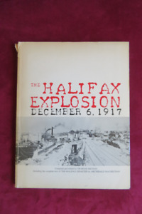 Rare book on the Halifax Explosion.