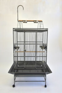 """*ON SALE* 32"""" Large Play Top Parrot Cage for African Grey Amazon"""