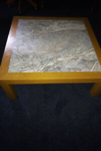 Coffee table - marble top, high quality and very strong.