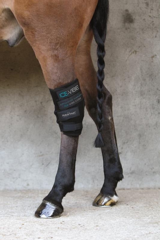 Horseware ICE-VIBE Circulation Therapy HOCK Boots - One Size - #34499