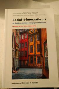 Livre Social-démocratie 2.1 à vendre