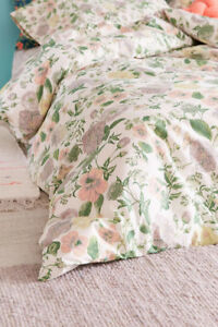 New Full/Queen Urban Outfitters Floral Duvet Cover