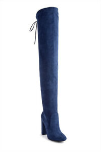 LIQUIDATION BRAND NEW FAUX SUEDE THIGH HIGH BOOTS WOMEN 11 $25