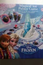 Disney frozen magical ice palace game **never used**