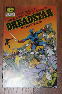 Dreadstar #1 Epic Comics MOVIE? Jim Starlin