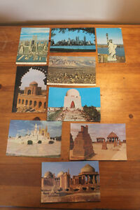Box Lot of Vintage Postcards Including NYC w. Twin Towers London Ontario image 1