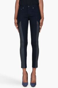 RAG AND BONE GRAND PRIX SKINNY JEANS - SIZE 28