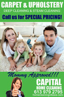 CARPET AND UPHOLSTERY CLEANING-STOP OVER PAYING!!!