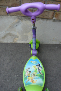 An interesting Kids 3-wheel Disney Scooter works well.