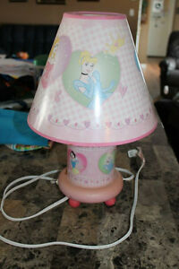 Disney Princess Lamp $5