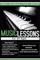 Piano Lessons for all ages Streetsville and Erin Mills Area