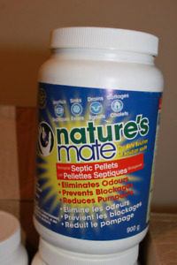Nature's Mate Septic Pellets 4 x 900g for sale.