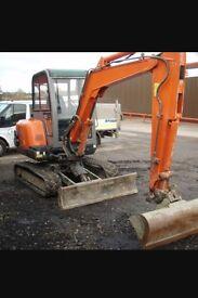 Groundworks,fencing,kerbing,concreting,digger,dumper,rock breaker,drainage,foundations