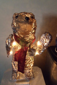 Light up Christmas Bear from Lowes