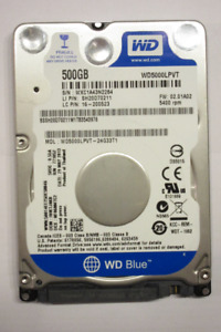 Laptop Hard Disk - WD 500GB 5400RPM