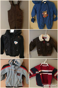Lots of sizes and coats/snow suits etc