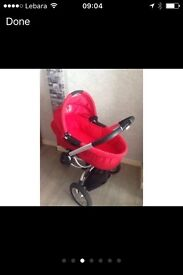Quinny Buzz Carrycot and the bag