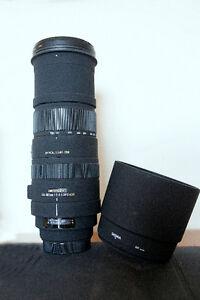 Sigma 150-500 mm f/5.0-6.3 APO DG OS HSM for CANON