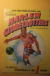 1952-53 Harlem Globetrotters Program (VIEW OTHER ADS) Kitchener / Waterloo Kitchener Area image 1