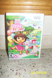 Nintendo Wii Dora's Big Birthday Adventure Game
