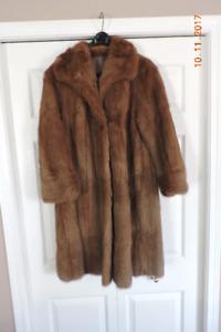 Three Vintage Fur Coats