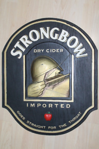 Vintage Strongbow Commercial Signage