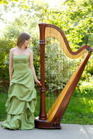 Live Event & Wedding Music with Professional Harpist
