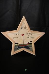 Sailor's Delight Wooden Star