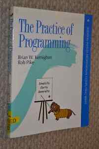 The Practice of Programming by Kernigham and Pike Kitchener / Waterloo Kitchener Area image 1