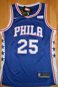 NEW w tags Ben SIMMONS All Embroidered Jersey
