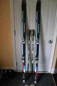 VINTAGE Rossignol FLASH*Downhill Skis, Bindings & Poles*170CM*